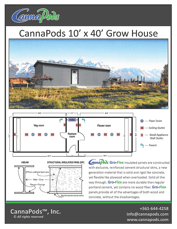 mobile grow room grow house
